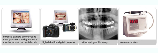 Specialist dental diagnostic equipment available